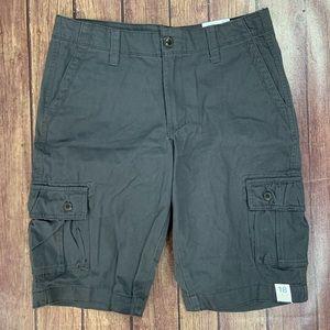 NWT Arizona Gray Cargo Shorts